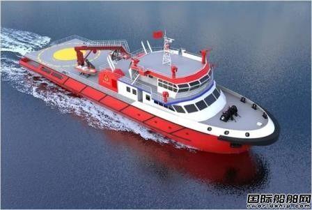 605院成功中标两型消防船设计项目