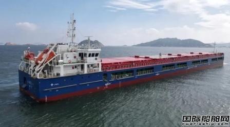 大津重工再获俄罗斯船东两艘8000吨散货船订单