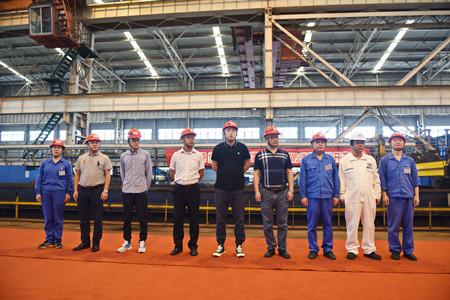 镇江船厂2艘公共应急消防船顺利开工