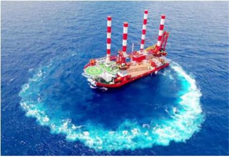 DNV GL助力中国首艘插销式自升自航抢险打捞工程船完成海试