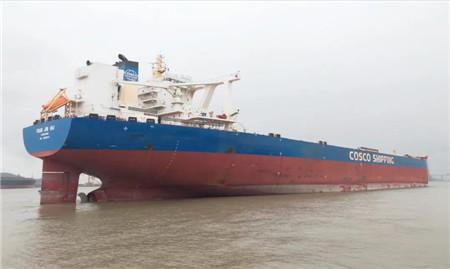 """南通远洋配套再交1套40万吨VLOC""""COSSACKE""""尾气脱硫系统"""