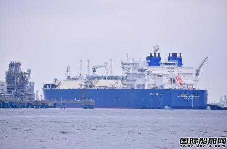 俄罗斯Yamal LNG项目破冰型LNG船首次靠泊日本港口