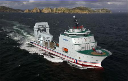 招商局重工建造升级版14000kW大型巡航救助船开工