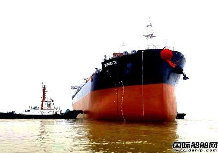 象屿海装3艘63500吨散货船连续完成重要节点