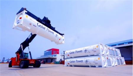 中集能源设计制造LNG罐箱批量出口巴西市场