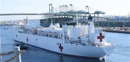 美国计划再买4艘医疗船抗击新冠疫情
