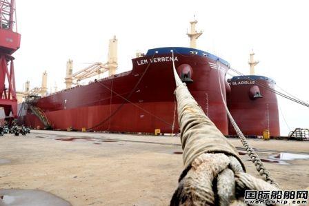 新时代造船两艘64900吨散货船同时交付