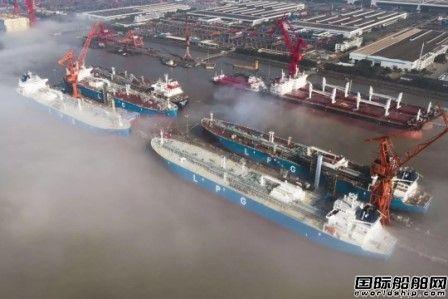 江南造船再签三艘VLGC订单