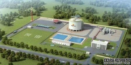 沪东中华签约将建造中国首座陆上LNG薄膜罐