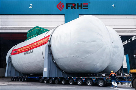 富瑞重装顺利交付世界最大豪华邮轮LNG燃料罐