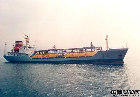 江南造船与Kumiai Senpaku签订4万方LPG船建造意向书