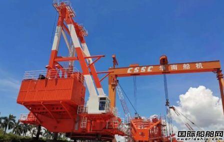 华南船机提前5个月超额完成年度经营任务