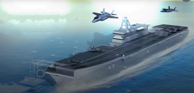 韩国正式公布轻型航母计划