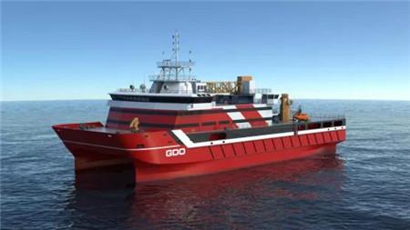 七�二所获国内首艘海上风电运维母船设计任务