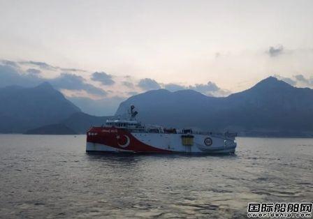 土耳其警告希腊不要袭击地震勘探船