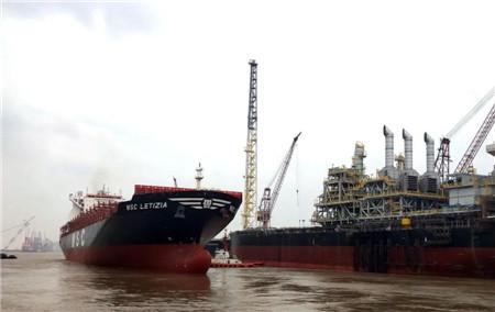 """上海中远海运重工""""MSC LETIZIA""""轮脱硫改造创新纪录"""