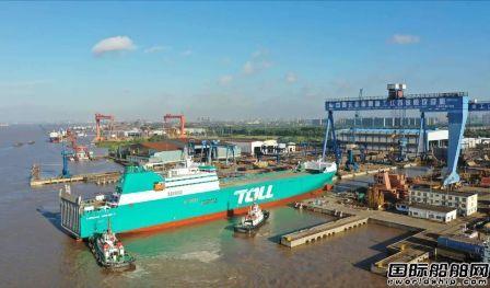 南京金陵滚装船建造成果再获国家专利