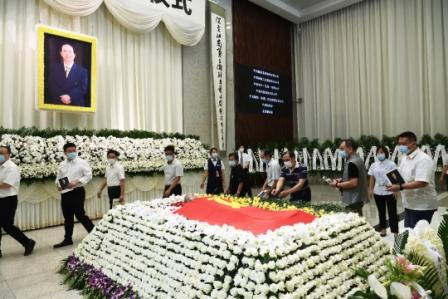 江南造船原董事长陈金海告别仪式在沪举行