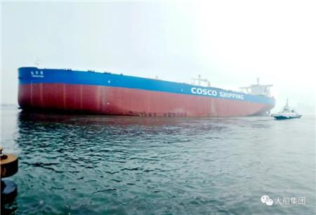 大船集团建造3艘30万吨VLCC实现三大节点