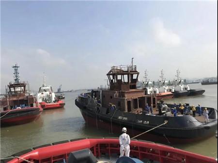 显利造船又一艘RAstar拖轮下水