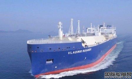 大宇造船建造破冰型LNG船率先开辟北海航线