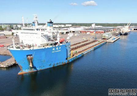中远海运特运交付全球最大油气项目TCO项目最后一船模块