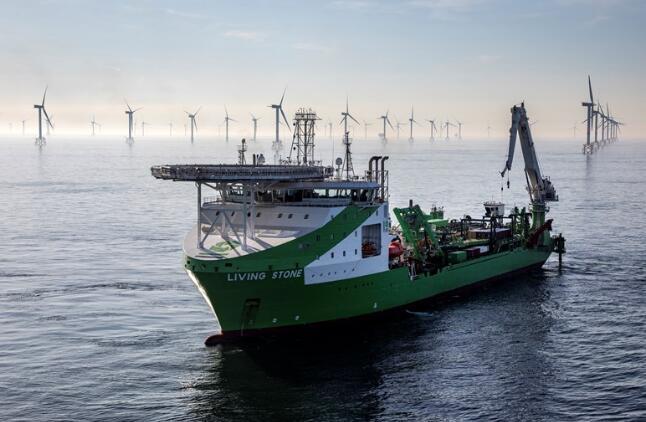 DEME拿下史上最大海上风电阵列间电缆订单