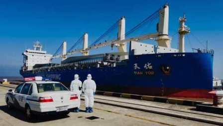 上海自贸区临港新片区迎来首艘北极航线班轮