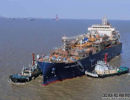沪东中华建造!全球最大LNG加注船抵达鹿特丹