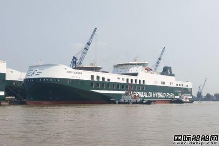 扬州海事一周内连续维护5艘新造船出坞下水