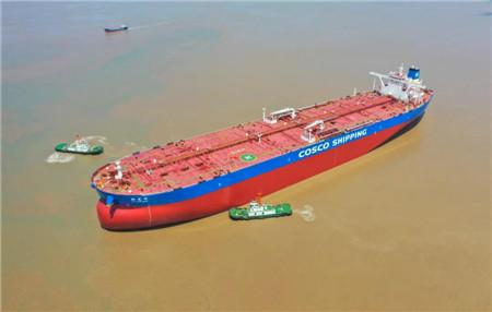 """舟山中远海运重工高效抢修""""新龙洋""""轮获船东好评"""