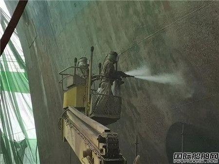 黄埔文冲修船事业部按期完成多型船修理任务