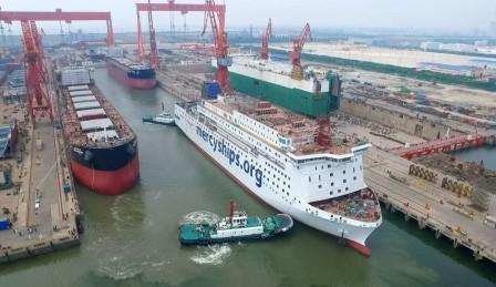 港船重工完成8艘国际船舶保税维修业务