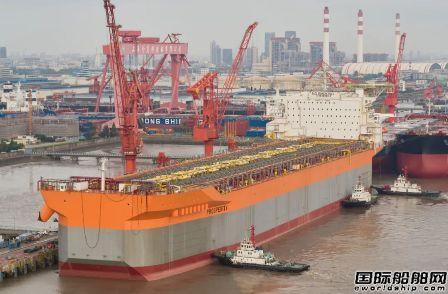 外高桥造船交付全球首艘自航大型FPSO