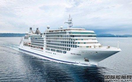 Fincantieri为银海邮轮建造第二艘超豪华邮轮完成海试