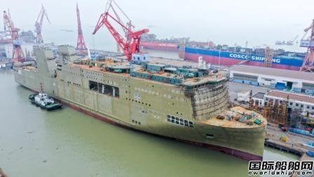 帽子戏法!广船国际3艘船出坞2艘半船起浮