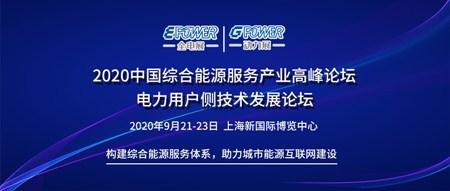 2020中国综合能源服务产业高峰论坛 电力用户侧技术发展论坛