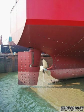 刷新三项纪录!文冲修造完成VLCC尾轴修复工程