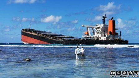 """毛里求斯就""""Wakashio""""号漏油事故向日本政府索赔"""