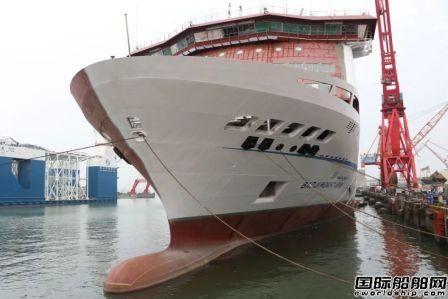 广船国际建造阿尔及利亚豪华客滚船完成倾斜试验节点