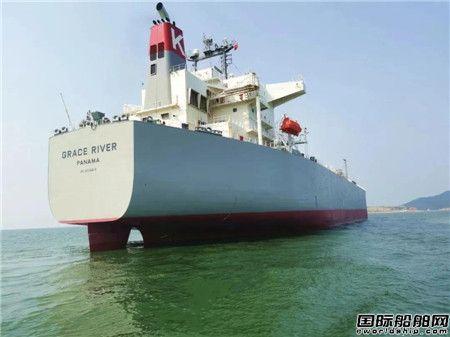 文冲修造承修日本市场首艘LPG船提前4天完工交付