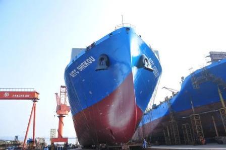 扬子江船业订单不断今年累计接单7亿美元
