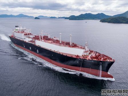 大宇造船交付Flex LNG一艘17.34万方LNG船