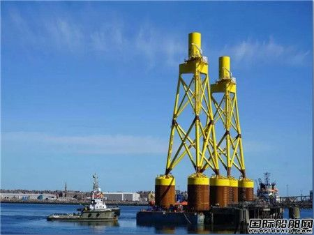 广东中远海运重工揽获12套海上风电项目导管架订单