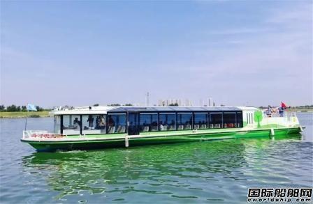 七一一所电气产品助力海河清洁能源游船