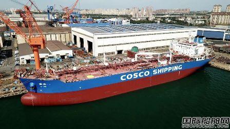 大连中远海运重工完成疫情解封后首艘进厂船舶坞内工程