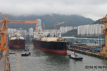 绝地反击?韩国船企接单量蝉联第一