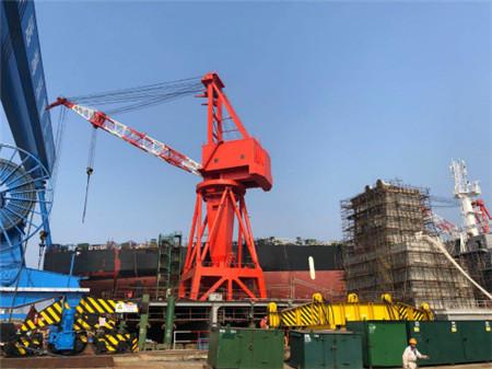 六横船舶修造产业�出绿色发展转型路