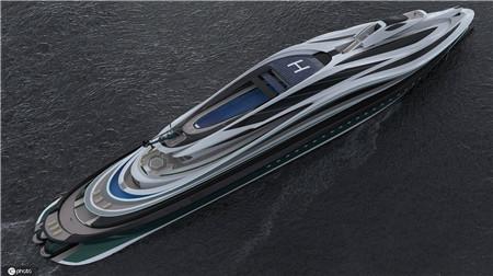 意大利公司设计超级游艇外形酷似天鹅