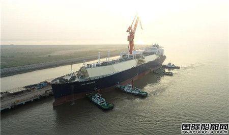 沪东中华YAMAL LNG 4号船开始气体试航